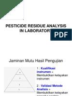 Pesticide Analysis