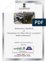 Maintenance Handbook on Transformer of 3 Phase Electric Locomotive.pdf