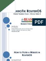 Mikrotik Ros Otc I-beam Ss02