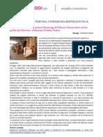 TO PERUGIA - Mercato Coperto, Conferenza Servizi Boccia Il Progetto