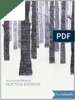 Doctor Krupov - Aleksandr Ivanovich Herzen