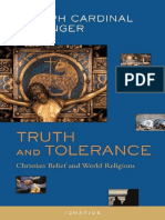 Truth and Tolerance - Joseph Ratzinger Benedict XVI