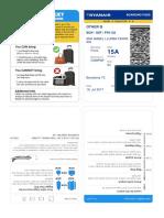 Imprimir Tarjeta de Embarque Berlin