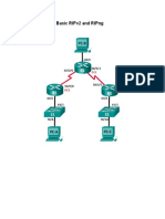 Configuring Basic RIPv2 and RIPng