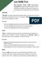 Lección de inglés