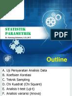 Pertemuan - 4 Statistik Parametrik