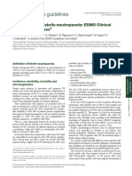Management of Febrile Neutropaenia