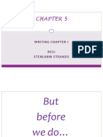 chapter 5 - writing chapter i