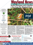 The Wayland News December 2017