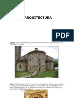 vocabulario arquitectura