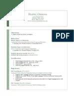 shirley olivares--resume 2015  2