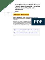 El Mtodo 360 de Hipnosis Rpida Descubre en 6 Simples Pasos Como Ayudar a Los Dems Con Hipnosis Sin Posibilidad de Fallar Spanish Edition by Nacho Muoz b00i0vy250pdf