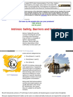 Intrinsic Safety Barriers Isolators