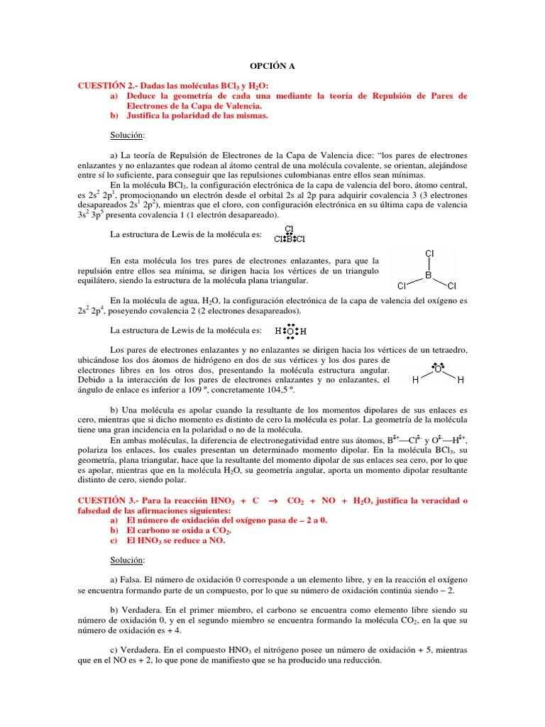 Andaj06 Polaridad Química Enlace Covalente