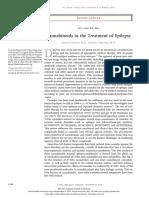 Cannabinoids in Epilepsy - NEJM 2015