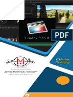 Online Final Cut Pro x