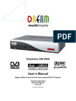 User's Manual DM500