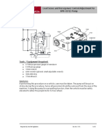 Load Sensing and Horse Power Adjestment for HPR-02 PUMP