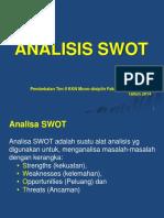 5. SWOT