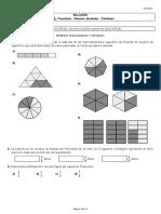 Relación Tema 6. Fracciones. Números decimales
