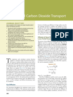 Oxygen and Carbon Dioxide Transport