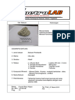 Deskripsi Batu Lapili