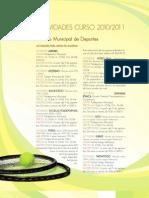 EDUCACIÓN Actividades Curso 2010-2011 (Torrelodones)