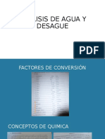 ANALISIS DE AGUA Y DESAGUE.ppt