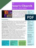 st saviours newsletter - 3 dec 2017
