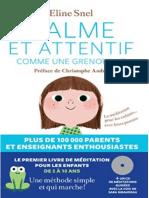 Eline Snel - Calme Et Attentif Comme Une Grenouille