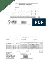 Formato Ugel informe asistencia, horas lectivas y efectivas