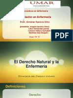 Derecho Natural y Enfermería