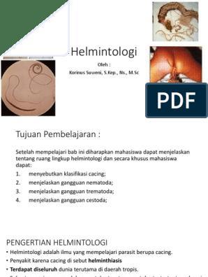 definirea helmintologiei