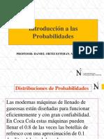 Introducción a Distribución de Probabilidades