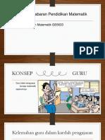 Slaid Isu Dan Cabaran Pendidikan Matematik