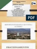 Reporte Fotografico de Edificios Existente de Tuxtla