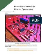 Amplificador de Instrumentação Com Amplificador Operacional