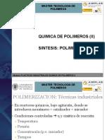 MASTER 1-Plasticos Industriales QUIMICA de POLIMEROS 2 Actualizado