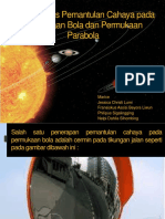 Aplikasi Fisika Optik Pemantulan Cahaya pada Permukaan Bola dan Parabola.pptx