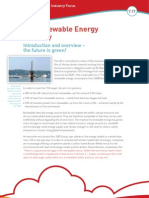 STEM-Renewable Energy Industry Focus