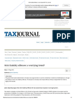 Strict Liability Offences_ a Worrying Trend_ _ Tax Journal