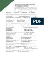 Examen Diagnóstico A