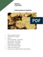 Criptomonedas en Argentina