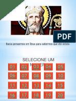Apresentação Santo Anselmo