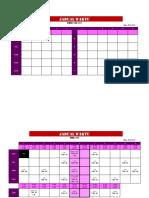 Jadual Waktu TMK456 & FROG123 2017