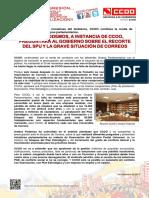 2361150-Comunicado CCOO Iniciativas Parlamento PODEMOS 1-12-2017
