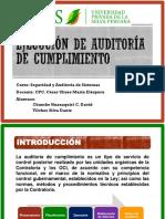 Ejecución de Auditoría de Cumplimiento
