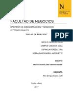 Informe Fallas de Mercado