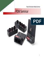 PDM Seminar