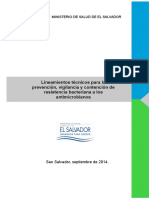 Lineamientos Tecnicos Resistencia Bacteriana Antimicrobianosv2